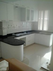 Kitchen Set & Granite Nero Absolute