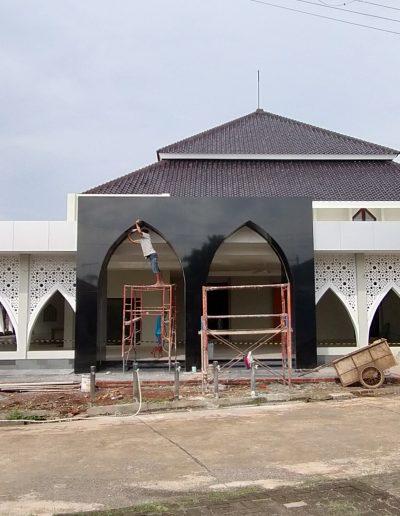Project Masjid Muadz bin Jabal, bojongkulur - gunung putri, Bogor